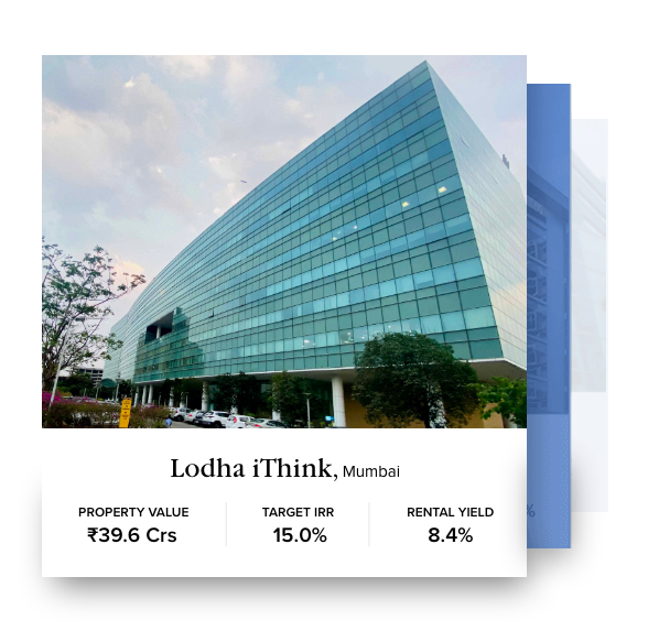 Lodha iThink home page banner
